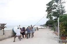 Bão số 10: Phú Yên nghiêm cấm người dân đi lại trong vùng ngập sâu