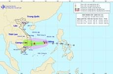 Áp thấp nhiệt đới đã mạnh lên thành cơn bão số 12, gió giật cấp 10