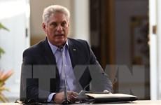 Chủ tịch Cuba mong muốn mối quan hệ mang tính xây dựng với Mỹ