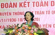 Rộn ràng ngày hội đại đoàn kết toàn dân tộc tại tỉnh Bắc Giang