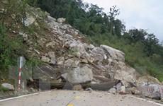 Kon Tum: Hoàn tất thông xe trên các tuyến đường bị sạt lở