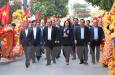 Tưng bừng Ngày hội Đại đoàn kết toàn dân tộc tại tỉnh Lạng Sơn