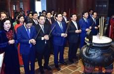 Trang trọng Lễ kỷ niệm 650 năm ngày mất của Danh nhân Chu Văn An