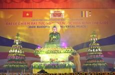 Quảng Ninh: Chiêm bái tượng Phật ngọc 3,8 tấn tại chùa Quỳnh Lâm