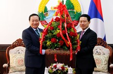 Lào đề cao dấu ấn Việt Nam trong 45 năm phát triển đất nước