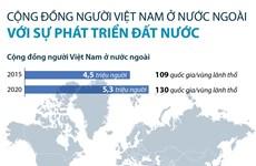 [Infographics] Người Việt ở nước ngoài với sự phát triển của đất nước