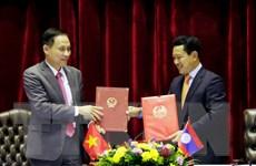 Việt Nam-Lào xem xét nối lại thông quan hàng hóa toàn tuyến biên giới
