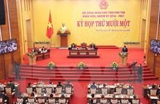HĐND tỉnh Phú Thọ thông qua nhiều nghị quyết phát triển KT-XH