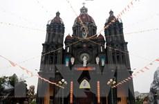 [Photo] Giáo dân Nam Định náo nức chuẩn bị Giáng sinh 2020