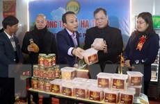 Hội chợ Công thương khu vực phía Bắc giới thiệu nhiều sản vật Nam Định
