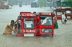 Mưa bão gây ngập lụt nghiêm trọng, Philippines sơ tán gần 10.000 người