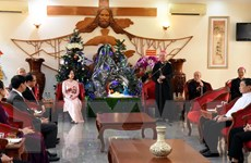 Trưởng ban Dân vận TW chúc mừng các vị chức sắc, đồng bào Công giáo