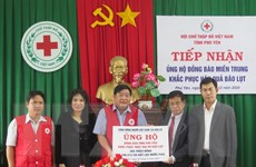 Người Việt Nam tại Mỹ hỗ trợ tỉnh Phú Yên khắc phục hậu quả bão lũ