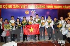 Học sinh Hà Nội đạt thành tích xuất sắc tại Kỳ thi Olympic Quốc tế IOM