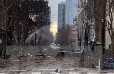 Cảnh sát Mỹ lục soát, điều tra vụ nổ kinh hoàng ở Nashville