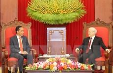 Thư chúc mừng kỷ niệm 65 năm quan hệ ngoại giao Việt Nam-Indonesia