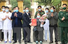 Dịch COVID-19: Bệnh nhân 1402 điều trị tại Ninh Bình được xuất viện