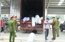 Thanh Hóa: Phát hiện xe ôtô chở hàng hóa lậu trị giá 5 tỷ đồng