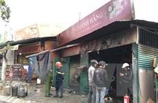 Lâm Đồng: Hỏa hoạn thiêu rụi một quán cơm do bất cẩn khi thay bình gas