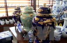 Sản phẩm gốm sứ Long Hầu từng bước vươn ra thị trường thế giới
