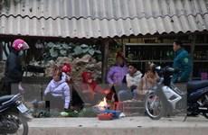 Nhiều sinh hoạt của người dân vùng cao Điện Biên ngưng trệ vì giá rét