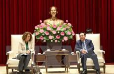Hà Nội mong muốn hợp tác với Ngân hàng Thế giới về quản trị đô thị
