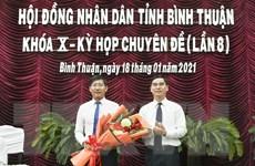 Ông Lê Tuấn Phong được bầu giữ chức vụ Chủ tịch tỉnh Bình Thuận