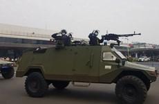 Triển khai lực lượng cảnh sát vũ trang bảo vệ Sân bay Tân Sơn Nhất