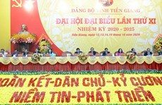 Học tập, quán triệt Nghị quyết Đại hội Đảng bộ tỉnh Tiền Giang