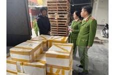 Thanh Hóa: Phát hiện xe tải vận chuyển 250kg cá khoai ướp phócmôn