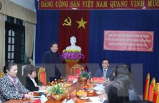 Bắc Kạn: Phó Chủ tịch Quốc hội Tòng Thị Phóng làm việc tại huyện Na Rì