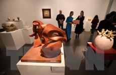 Thưởng lãm 36 tác phẩm điêu khắc độc đáo về 'Mùa Xuân đất nước'