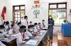 [Video] Học sinh trở lại trường học sau thời gian học trực tuyến