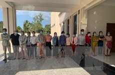 Tây Ninh: Đột kích bắt giữ 15 đối tượng đánh bạc lúc nửa đêm