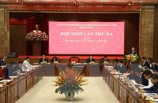 Đảng bộ thành phố Hà Nội thông qua 10 chương trình công tác toàn khóa