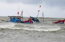 Tàu cá va chạm tàu hàng trên vùng biển Phú Yên, 2 ngư dân mất tích