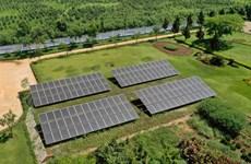 Toàn bộ hệ thống trang trại của Vinamilk được trang bị điện Mặt trời