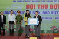 Hà Nội huy động hơn 12 tỷ đồng ủng hộ Quỹ ''Vì biển, đảo Việt Nam''