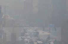Hàn Quốc cung cấp bản đồ chất lượng không khí thời gian thực
