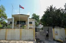 Các nhân viên ngoại giao Triều Tiên và thân nhân rời Malaysia