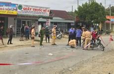 Hai xe máy đấu đầu trên Quốc lộ 12 khiến 3 người thương vong
