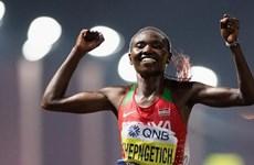 VĐV Kenya lập kỷ lục thế giới mới ở cự ly chạy bán marathon nữ