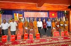 Trung ương Mặt trận Tổ quốc chúc Tết Chol Chnam Thmay tại An Giang