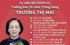 Ủy viên Bộ Chính trị, Trưởng ban Tổ chức Trung ương Trương Thị Mai