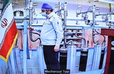 Iran khẳng định tiếp tục làm giàu urani tại cơ sở hạt nhân Natanz