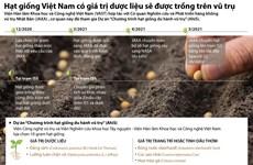 [Infographics] Hạt giống dược liệu của Việt Nam được trồng trên vũ trụ