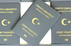 Thổ Nhĩ Kỳ điều tra 43 người dùng hộ chiếu công vụ trốn sang châu Âu