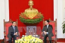 Bảo vệ, vun đắp mối quan hệ Việt Nam-Lào ngày càng phát triển