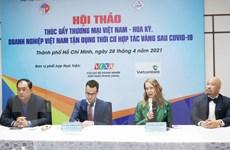 Cơ hội vàng hợp tác thương mại Việt Nam-Hoa Kỳ sau đại dịch COVID-19