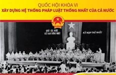 Quốc hội khóa VI: Xây dựng hệ thống pháp luật thống nhất của cả nước